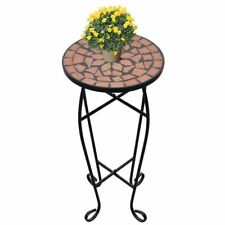Indoor Outdoor Garden Balcony Flower Plant Sofa Side Ceramic Tile Mosaic Table