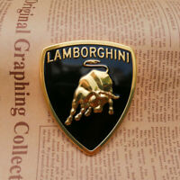 1PC Lamborghini Gallardo Huracan Rear Script Emblem Matte Black  NEW