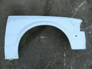 CLASSIC FORD ESCORT MK3 OS DRIVER FRONT WING, NOT FITTED BUT PAINTED WHITE 👍