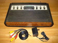 Modded Atari 2600 6-Switch System. AV Composite/S-Video CD4050. Pause + LED Mod!