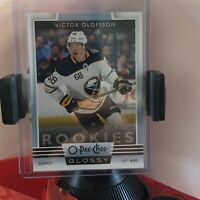 O-Pee-CHEE 2019-2020 VICTOR OLOFSSON GLOSSY ROOKIE R-16 BUFFALO SABRES