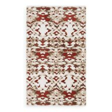 """Abyss Niege Bath Rug, 23"""" x 39"""" ~ Color: Persimmon ~ NEW WITH TAG Made Portugal"""