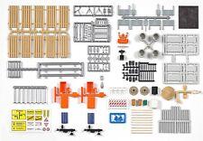 BUSCH 1165 H0, Ausgestaltungs-Set Straßenmeisterei, Bausatz, Neu