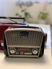 Drei Band Retro Radio AUX-IN Bluetooth USB/SD/TF MP3 mit Akku NEU! TOP QUALI!.