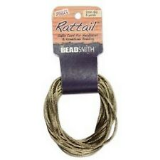 6 Yards 1MM RATTAIL COFFEE (Free Shipping)