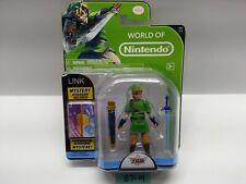 """World of Nintendo Series 1-1 - LINK 4"""" Action Figure - Zelda Skyward Sword NEW"""