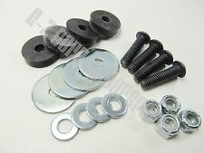 Kart Racing Seat Mounting Kit | Includes Rubber Grommets and Mounting Hardware