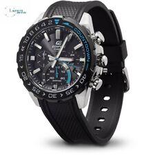 Casio Mens Edifice Chronograph Platic Black Strap Watch EFS-S550PB-1AVUEF 5622