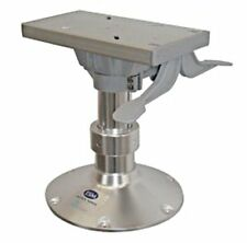 Gas Powered Adjustable Seat Base Pedestal Aluminum Rotary Head 35-47cm
