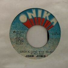 "JOHN JONES LIFE'S A LONG WAY TO RUN 1979 REGGAE 7"" VINYL"