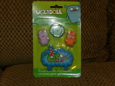 NEW Uglydoll Set 4 pc Birthday Party Supplies Molded Cake CANDLES *