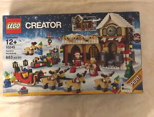LEGO 10245 Creator Santa's Workshop Christmas NEW NIB FACTORY SEALED RETIRED
