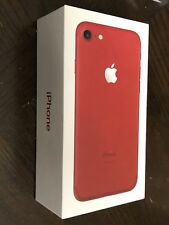 NEW Apple iPhone 7 - 128GB - Red (Unlocked)  (GSM) and Verizon
