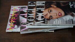 Vogue Konvolut 1987,85,,89, Zeitschrift Magazin Konvolut  Hefte