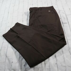 Mens Dickies NWT Brown 56UU Polyester Cotton Utility Work Pants