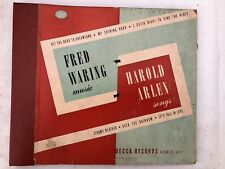 Fred-Waring-Pennsylvanians-on-78-rpm-Decca-Album-A-552-Harold-Arlen-songs