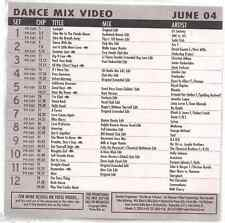 Promo only video SODA CLUB Janet Jackson BLONDIE no doubt MADONNA commodores