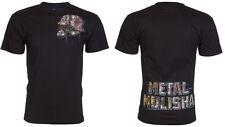 METAL MULISHA x REALTREE Men T-Shirt HIDEOUT Motocross Racing BLACK CAMO Fox $30