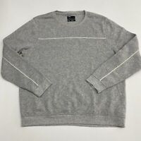 NWOT Public Opinion Pullover Sweater Men's Size XL Long Sleeve Gray Crew Neck