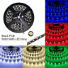 5M 300LED PCB Black 5050 Waterproof LED Strip Light for DIY Car Xmas Home Party