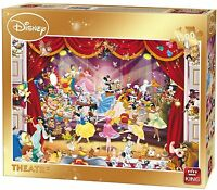 1500 Piece Disney Cartoon Character Jigsaw Puzzle - DISNEY THEATRE 05262