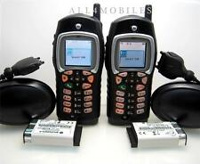 Excellent Lot of 2 Motorola i355 IDEN Unlocked PTT Nextel Cell Phones