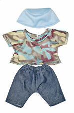 """Boy Jeans, Top And Hat Doll Outfit For 10"""" Lots To Love Baby Doll"""