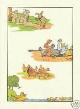 "Document issu de Livre Ancien "" D'après Benjamin RABIER Lapin 1978 """