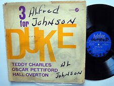 TEDDY CHARLES Trio 3 For Duke LP Jubilee 1047