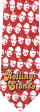 ROLLING STONES FACES NEW NOVELTY TIE