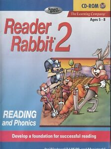 Kid's Pc Game - Reader Rabbit 2 - Reading & Phonics - Ages 5 to 8