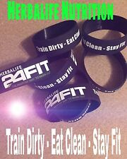 1 Wristband Herbalife24 FIT - Train Dirty - Eat Clean - Stay Fit