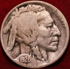 1926-D  Denver Mint Buffalo Nickel