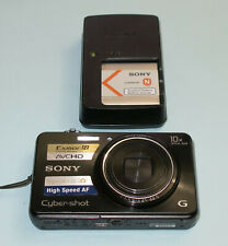 Sony Cyber-shot DSC-WX150 18.2MP Digital Camera Black with Original Batt Charger