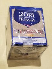 2018 Panini Russia FIFA World Cup Soccer Stickers Fact. Sealed 50 Pack Boxes New