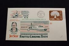 SPACE COVER 1976 MACHINE CANCEL JET STAR SPACE SHUTTLE LANDING TEST #376 (4153)