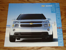Original 2007 Chevrolet Equinox Deluxe Sales Brochure 07 Chevy