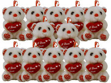"""SET OF 12 ~  """"I Love You"""" Plush Bear ~ Surprise your Sweetheart Valentine's Day"""