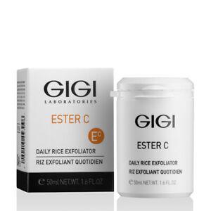 GIGI Ester C Daily Rice Exfoliator 50ml + Freebie
