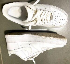 Nike Air Max AF1 bianche in pelle n. 42,5 EU uomo - usate 2 volte