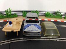 Scalextric Car Ford Escort XR3i Silver C345 Body Shell Glass Interior Cabin
