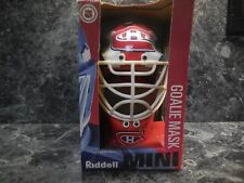 1 montreal canadiens riddell mini goalie mask