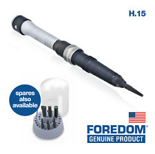 Genuine US FOREDOM Hammer Action H.15 Handpiece OR Spare Tips