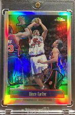 1999-00 Topps Chrome Vince Carter Refractor Second Year Rare SP Raptors