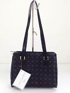 BNWT Authentic DAVID JONES Classic Signature Square Shoulder Bag Black $69