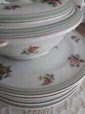 Vintages services de table en porcelaine signé Charles Ahrenfeldt Limoges.