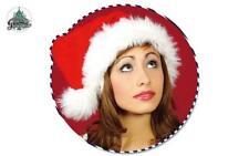 Cappello Babbo Natale Peluche per Adulto Cappellino Travestimento Natale Unisex
