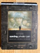Saving Private Ryan Steelbook (4K Uhd + Bluray) No digital