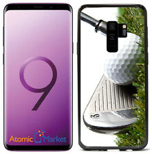3 Iron Golf Club Hitting Golf Ball For Samsung Galaxy S9 Plus + 2018 Case Cover