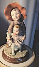 "Giuseppe Armani Retierd Figurine ""Little Sister"" Hard To Find"